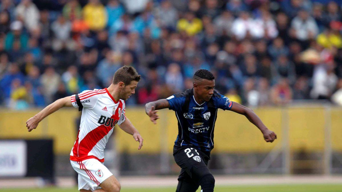 Independiente del Valle sorprende al campeón River en ida de octavos de Libertadores