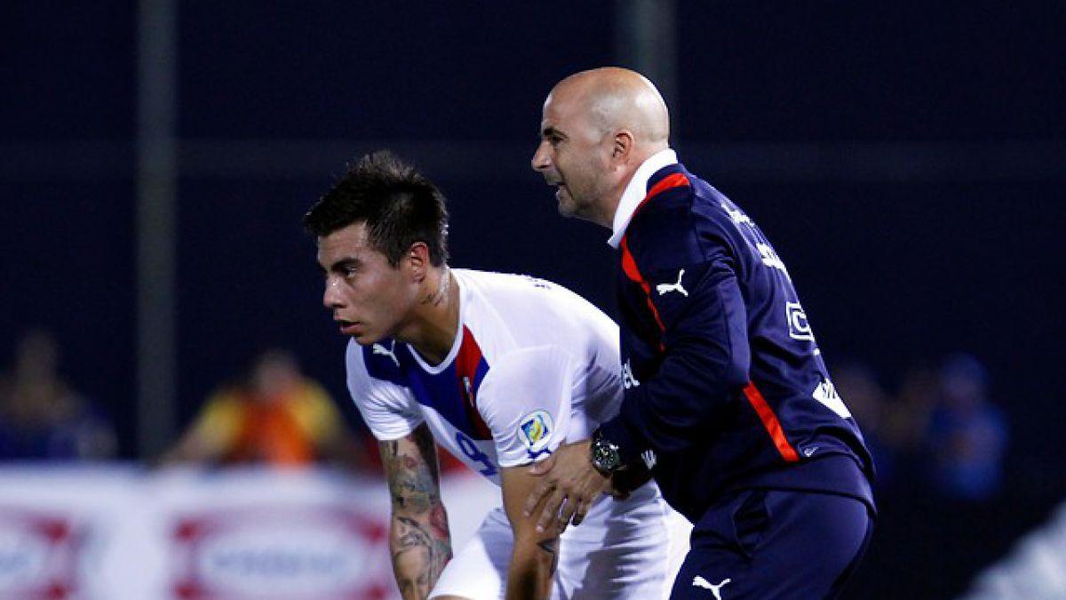 """Eduardo Vargas no olvida a Sampaoli: """"Fue el técnico que más me ha motivado"""""""