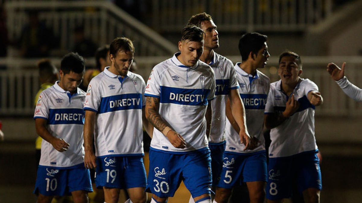 DT de la UC prepara cambios ante Audax y Nicolás Castillo no sería de la partida