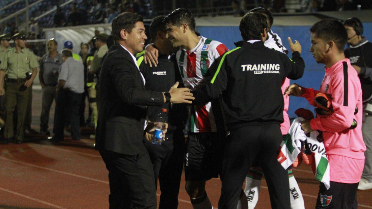 La íntima celebración de Palestino tras entrar en zona de Copa Sudamericana