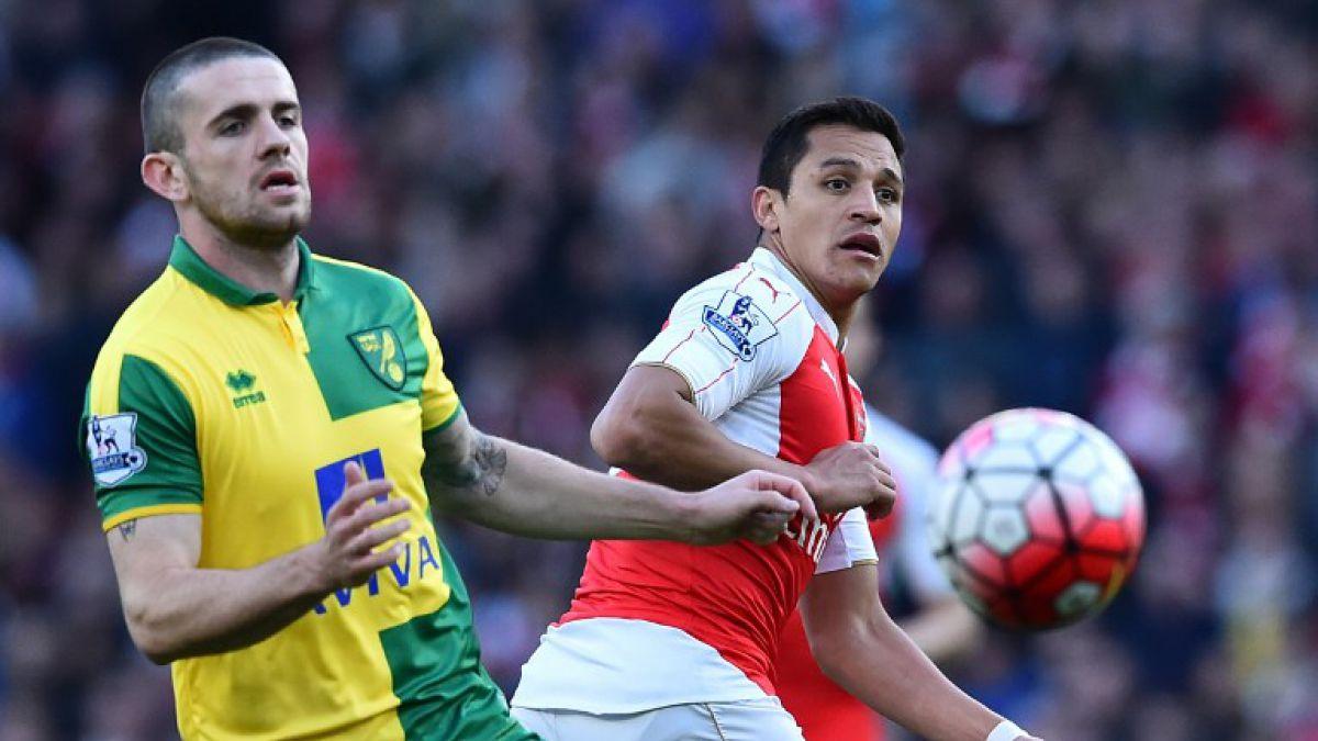 Arsenal de Alexis se impone al Norwich y alcanza momentáneamente cupo directo a Champions
