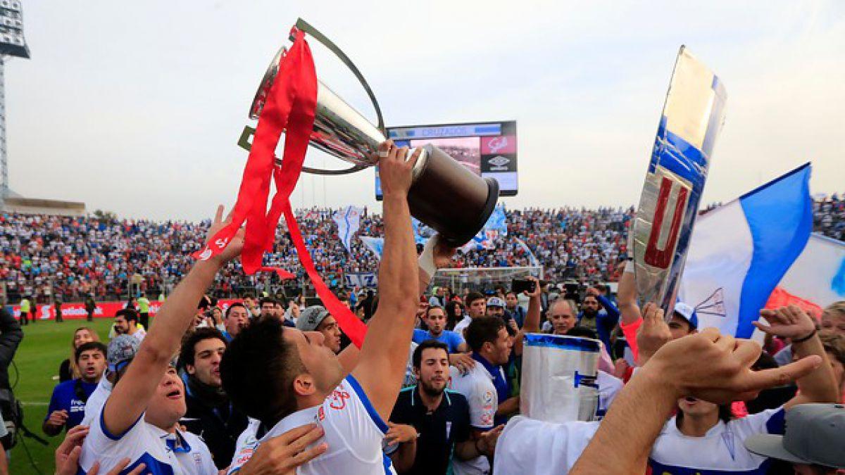 Colo Colo y la U felicitan a Universidad Católica tras su nuevo título