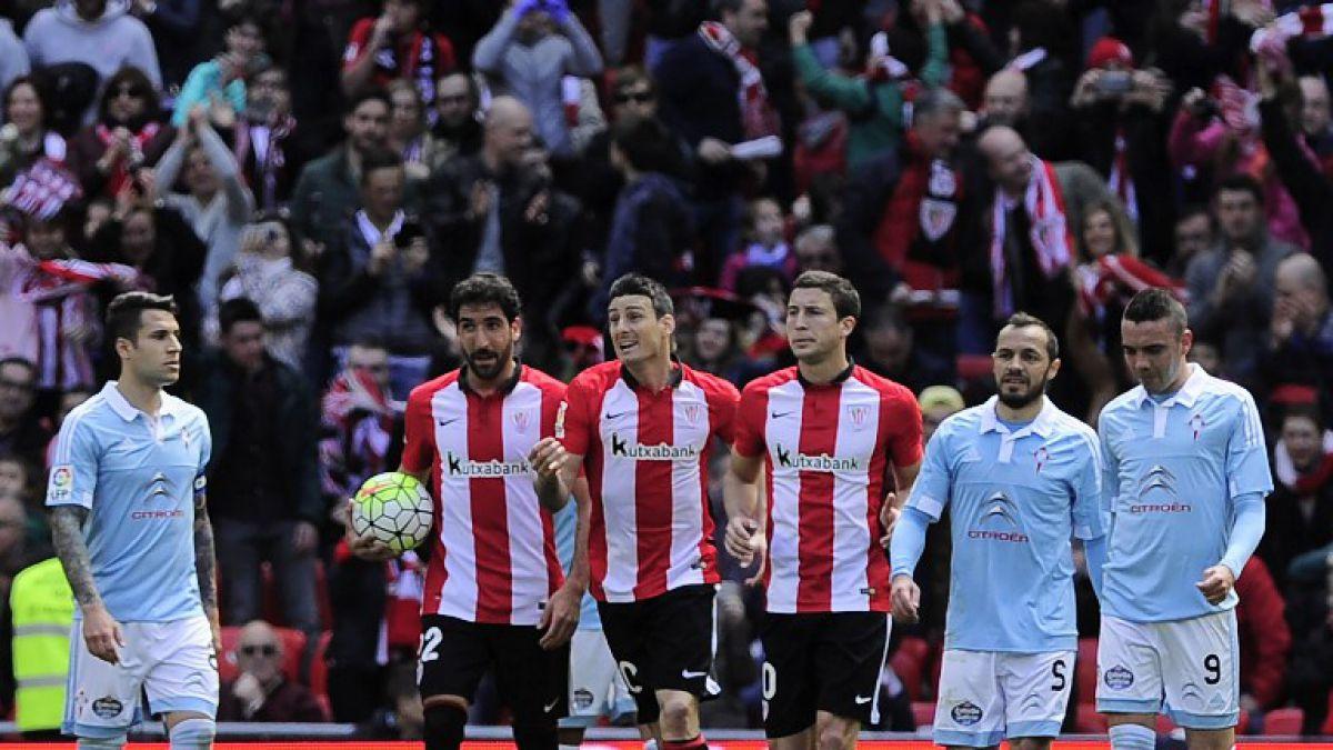 Gol de Orellana no alcanza para evitar derrota de Celta con Athletic Bilbao