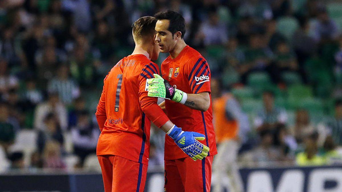 Barcelona confirma lesión de Claudio Bravo sin detallar fecha de regreso