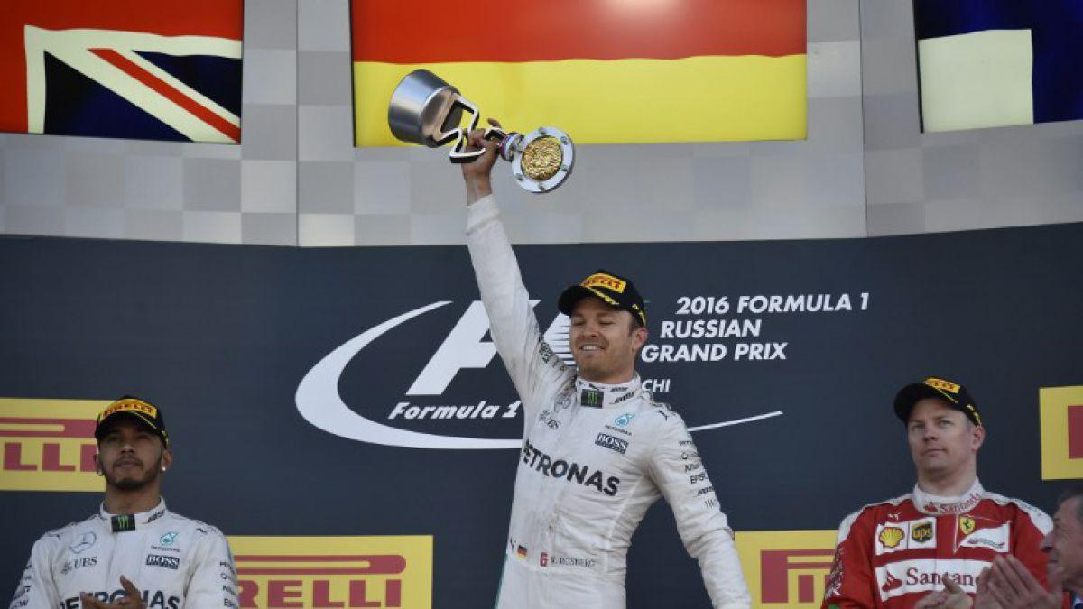 Nico Rosberg vence en el GP de Rusia y sigue estirando su ventaja
