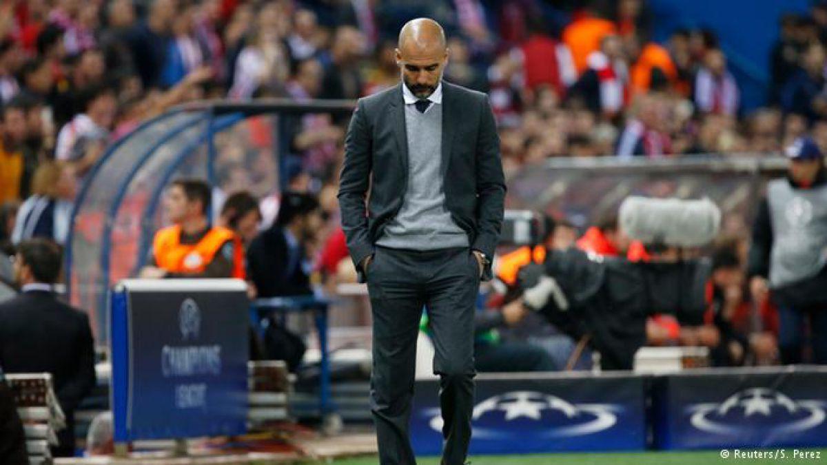 Las críticas al entrenador Pep Guardiola crecen antes del partido del Bayern contra el Atlético de Madrid.