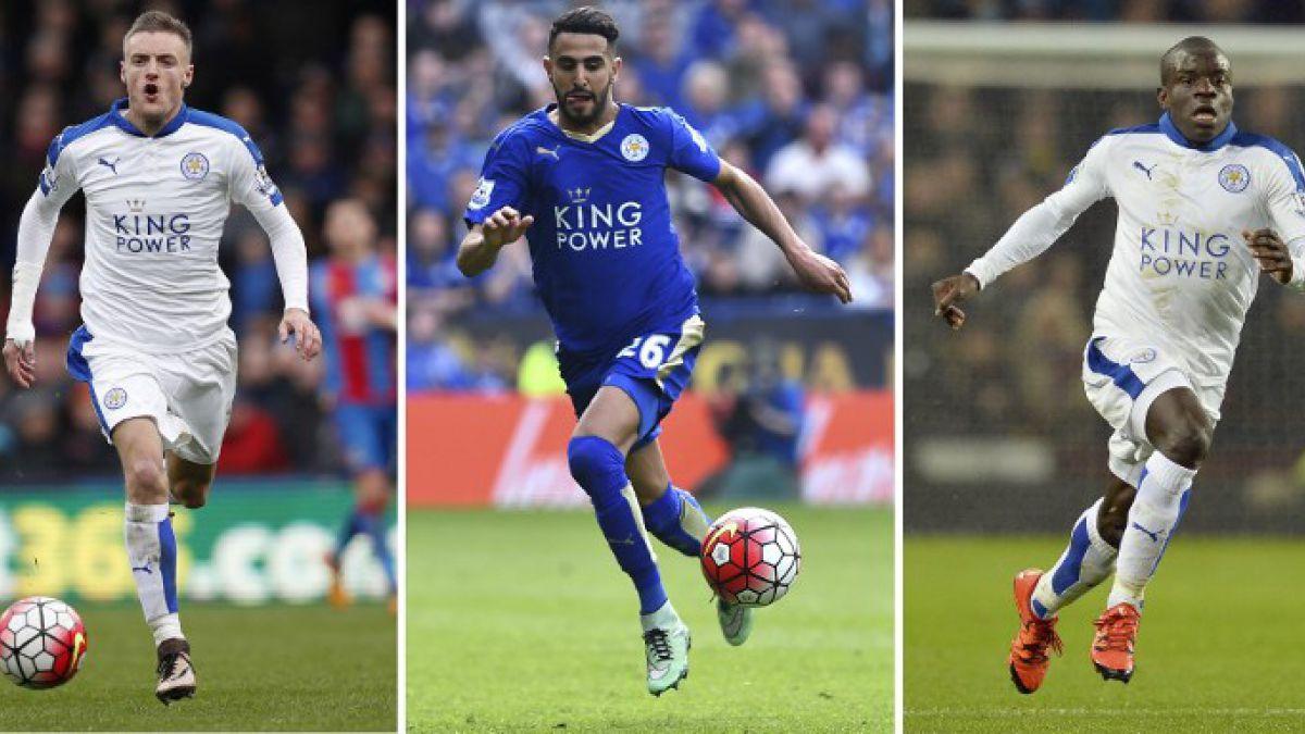 El Leicester: Vardy, Mahrez y sus escuderos indomables