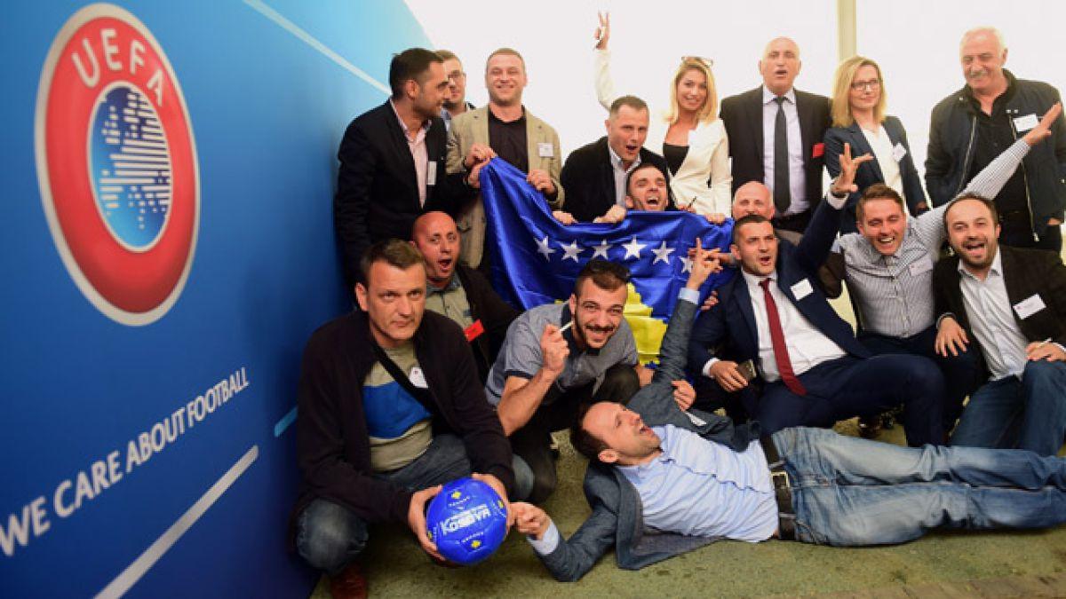 Kosovo es admitido como 55° miembro de la UEFA