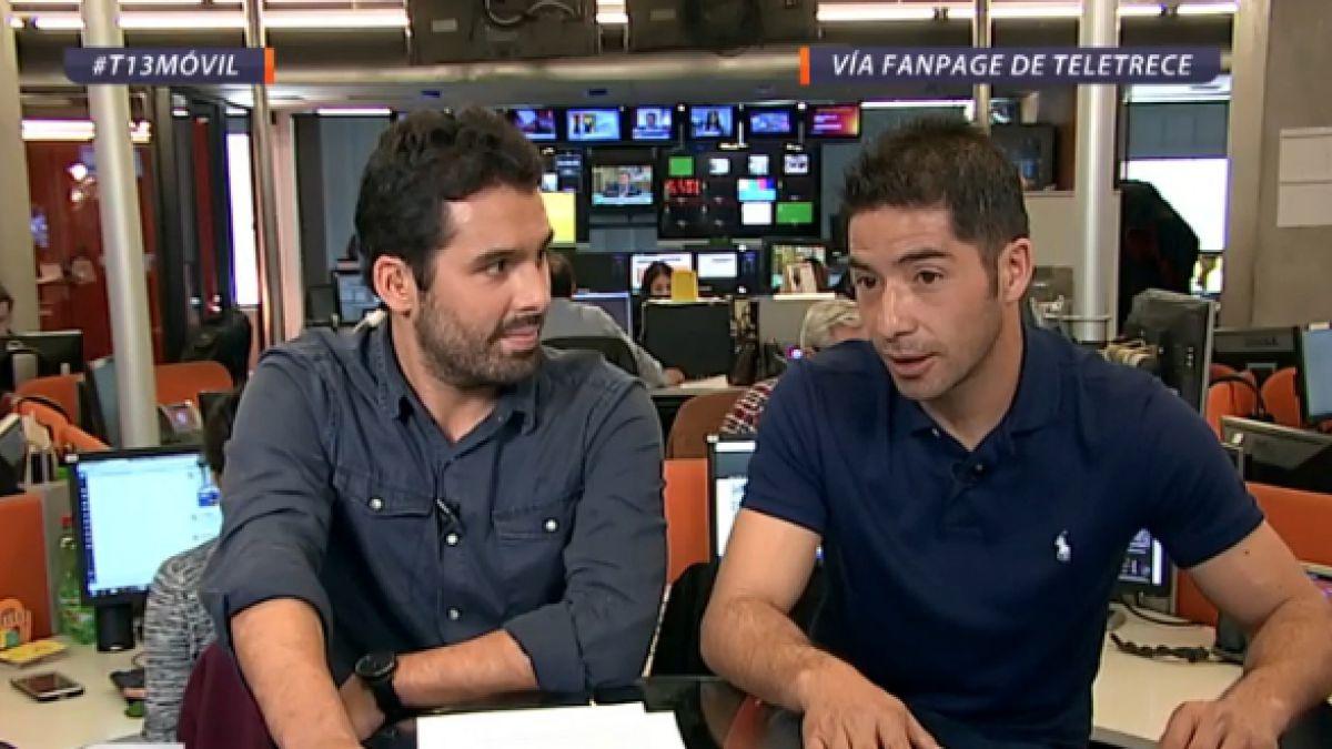 """Cristián Álvarez en T13 Móvil y el título de la UC: """"Este plantel debe ir por el bicampeonato"""