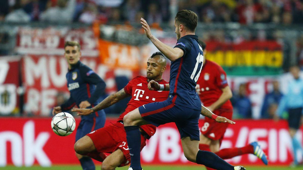 [Minuto a Minuto] Bayern con Vidal vencen al Atlético de Madrid en Champions