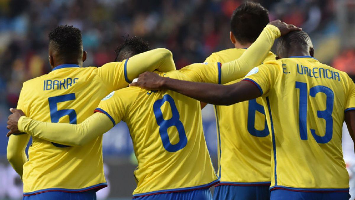La prenómina de Ecuador para la Copa América Centenario