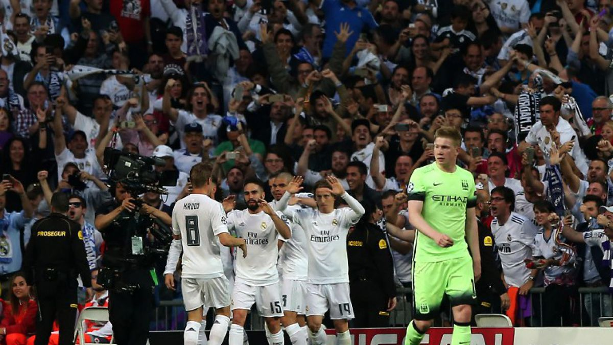 City de Pellegrini se despide de final de Champions tras perder con Real Madrid