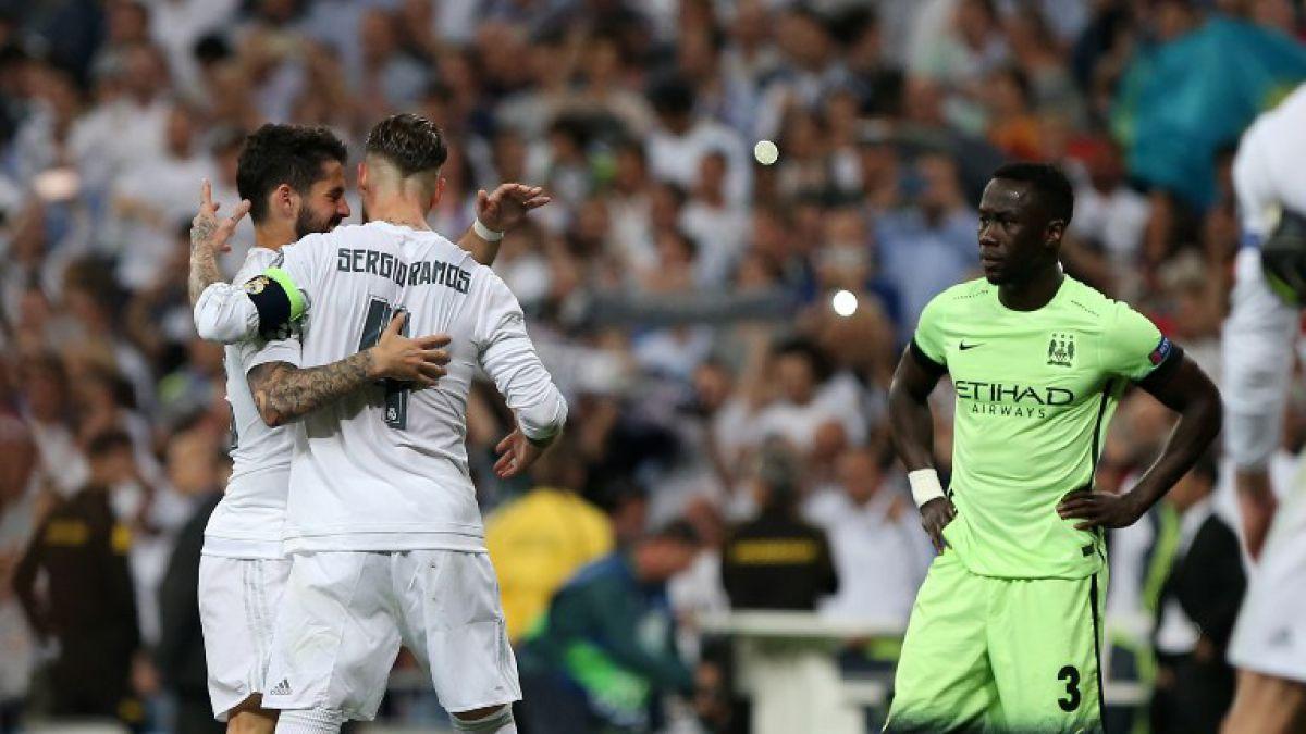 ¿Era penal? Mano de Ramos pudo darle clasificación al Manchester City
