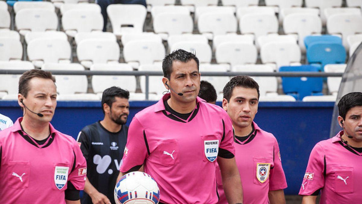 Ya fue elegida la terna de árbitros chilenos que asistirá a la Copa América Centenario