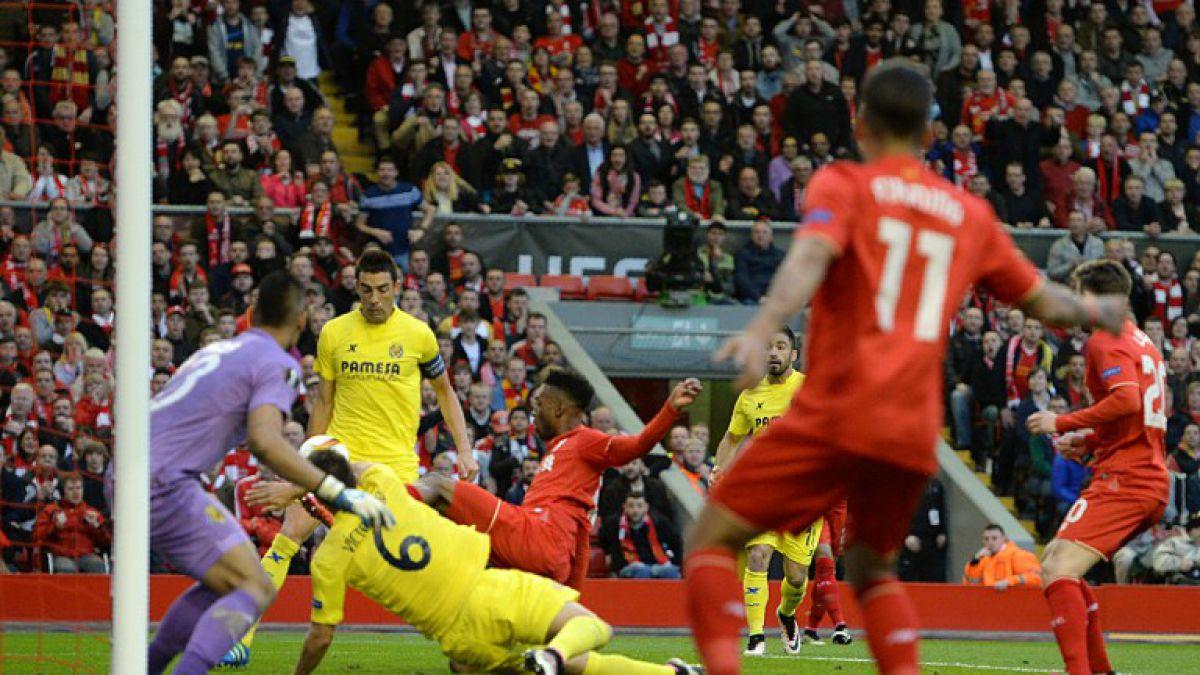 [GOL A GOL] Liverpool está venciendo a Villarreal por Europa League
