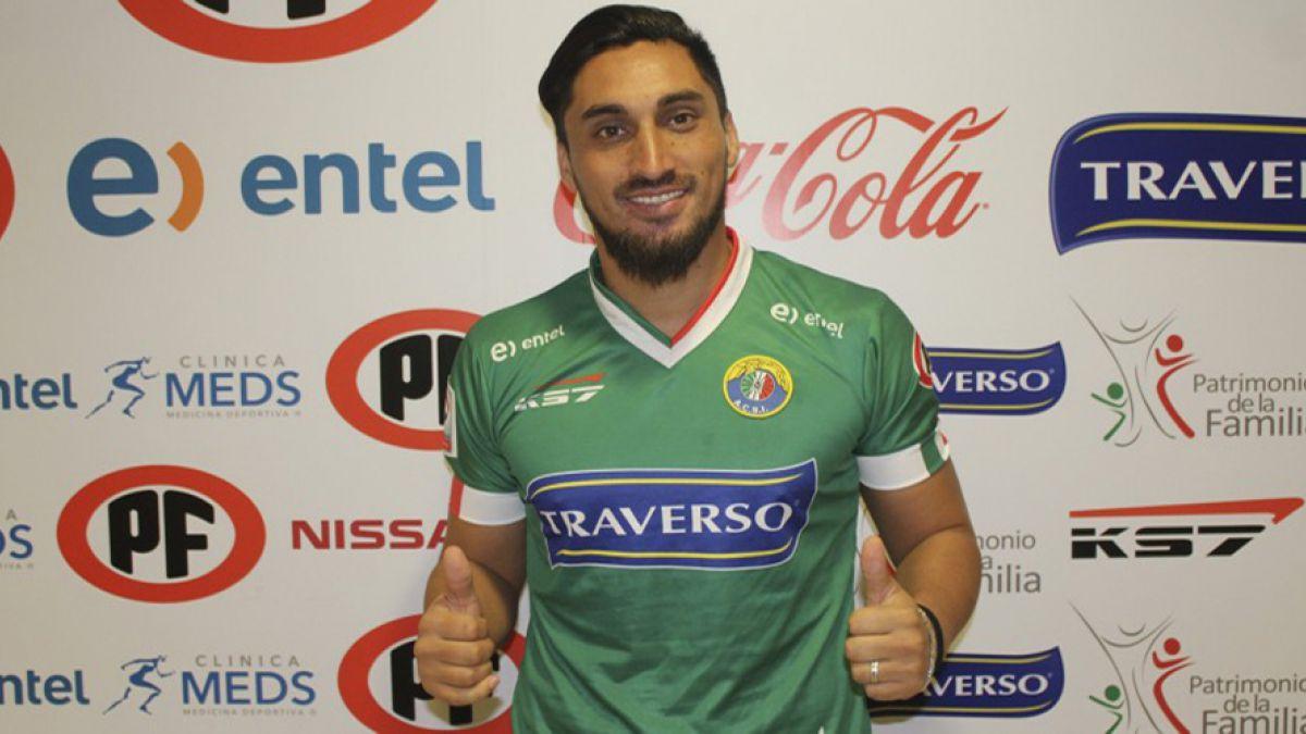 Audax Italiano confirma el fichaje del defensor Hans Martínez