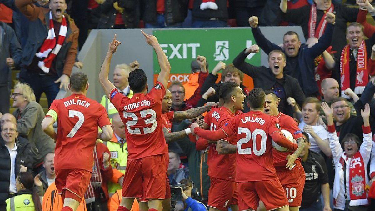 Liverpool remonta ante Villarreal y clasifica a la final de Europa League