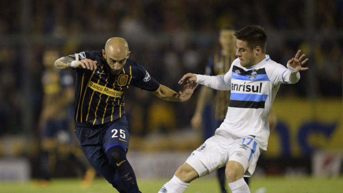 Rosario Central sin Larrondo golea a Gremio y se mete en cuartos de la Libertadores