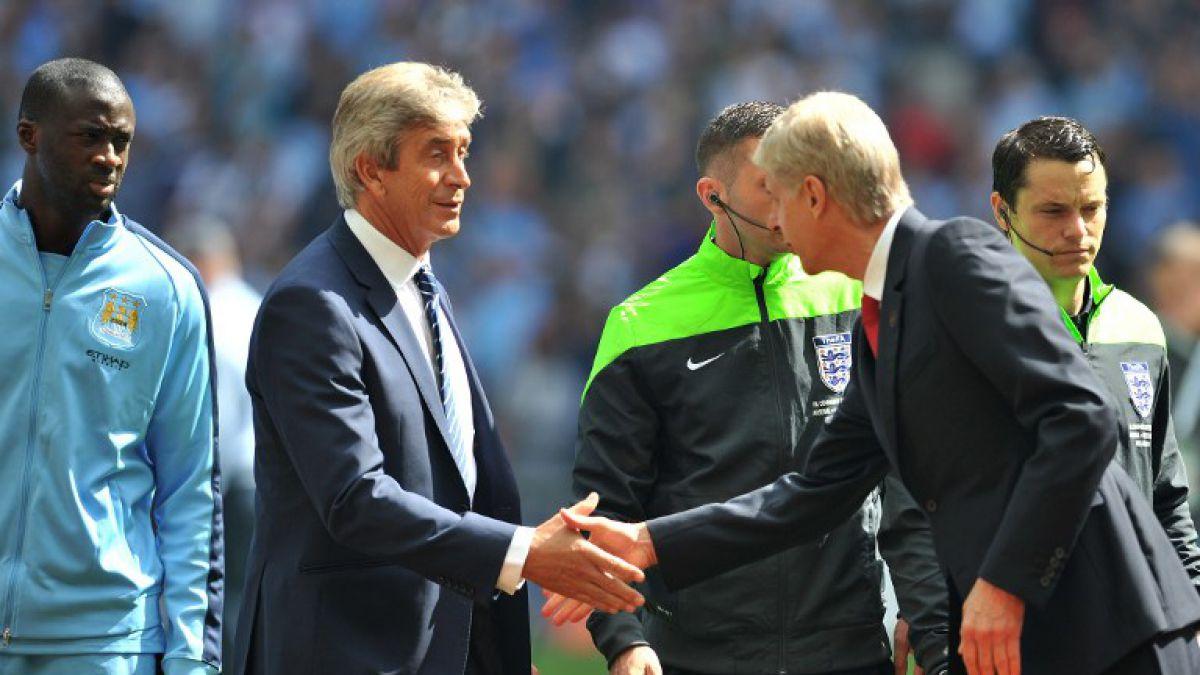 Los elogios de Wenger para Pellegrini: Es respetado por todos en la Premier League