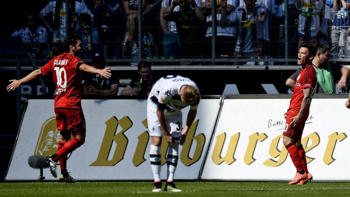 Charles Aránguiz anota su primer gol en Alemania en caída del Bayer Leverkusen