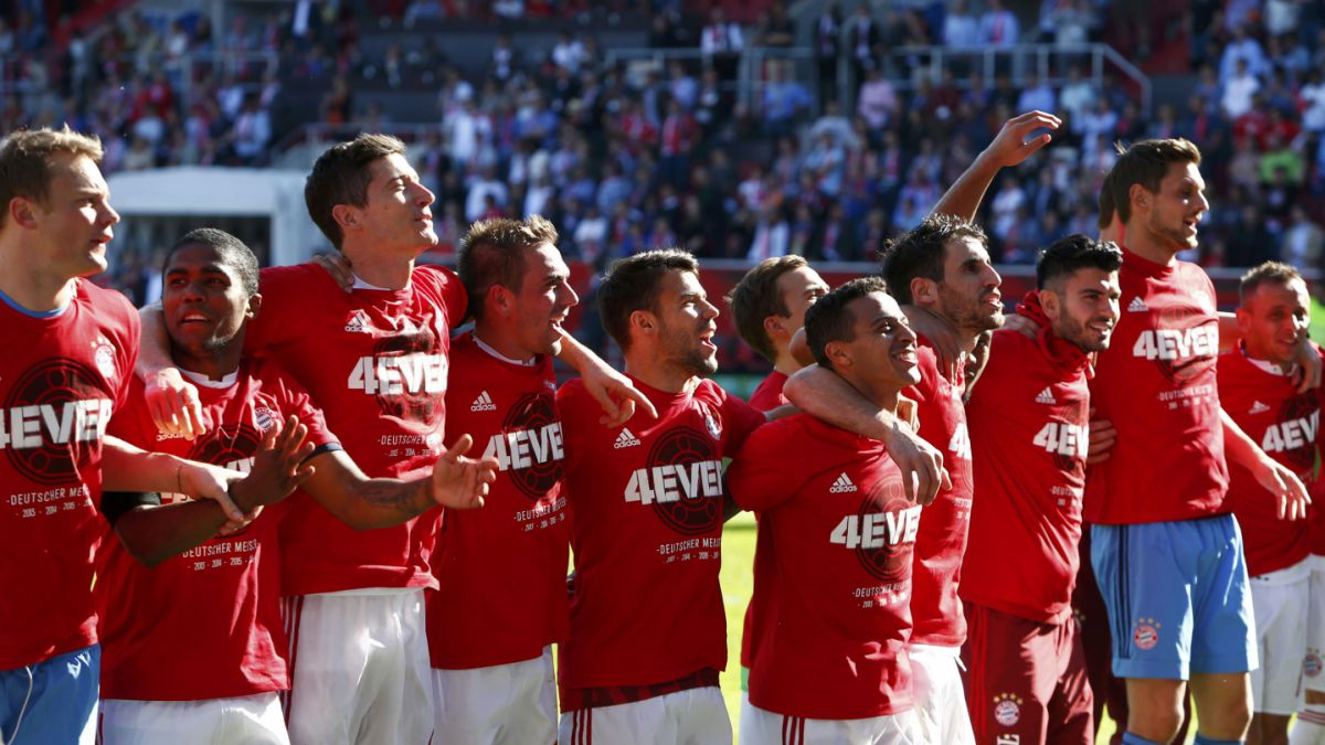 Arturo Vidal celebra: Bayern gana y logra tetracampeonato en Alemania