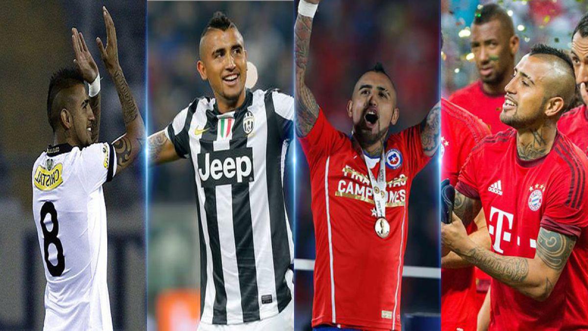 Arturo Vidal multicampeón: los quince títulos que acumula en su exitosa carrera