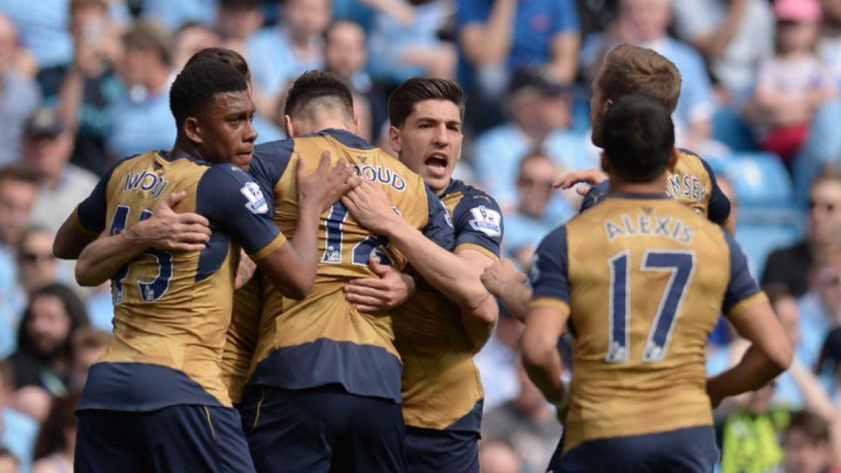 [Minuto a Minuto] Con gol de Alexis Sanchez el Arsenal está igualando con el City de Pellegrini