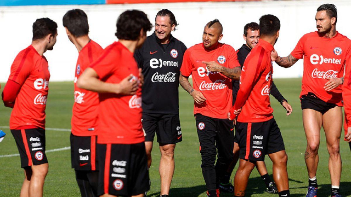 """""""La Roja"""" comienza a trabajar este miércoles de cara a la Copa América Centenario"""
