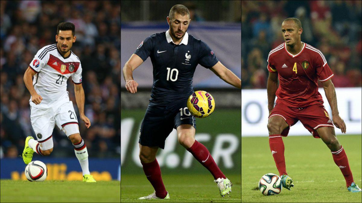 Las grandes figuras que no estarán en la Eurocopa de Francia 2016
