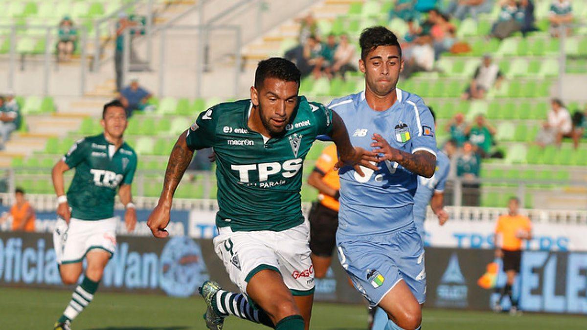 Wanderers y O'Higgins se enfrentan en la primera final de la Liguilla por la Sudamericana