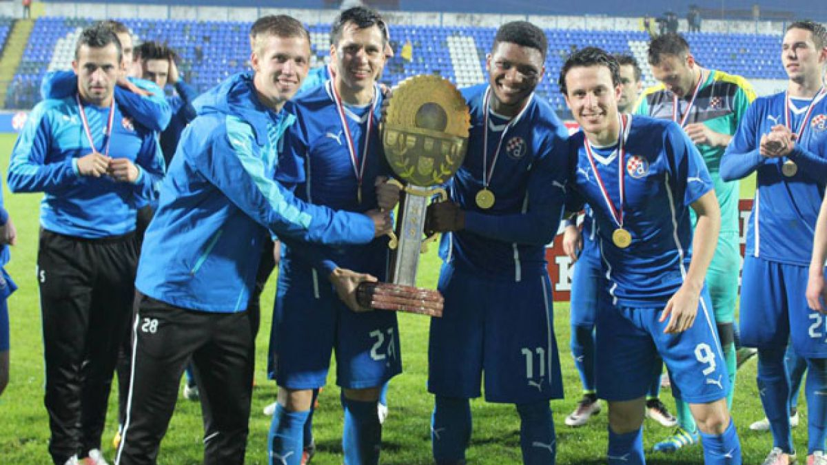 Junior Fernandes y Ángelo Henríquez ganan la Copa de Croacia con Dinamo Zagreb