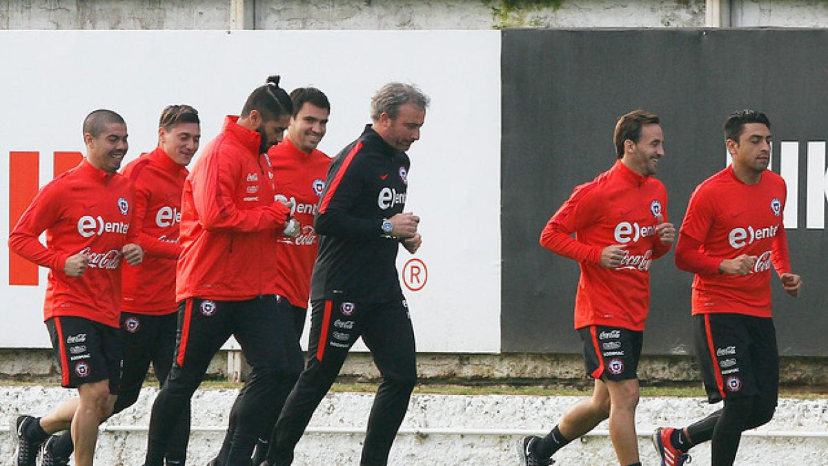 Con 8 jugadores la selección chilena comienza su preparación para Copa América Centenario