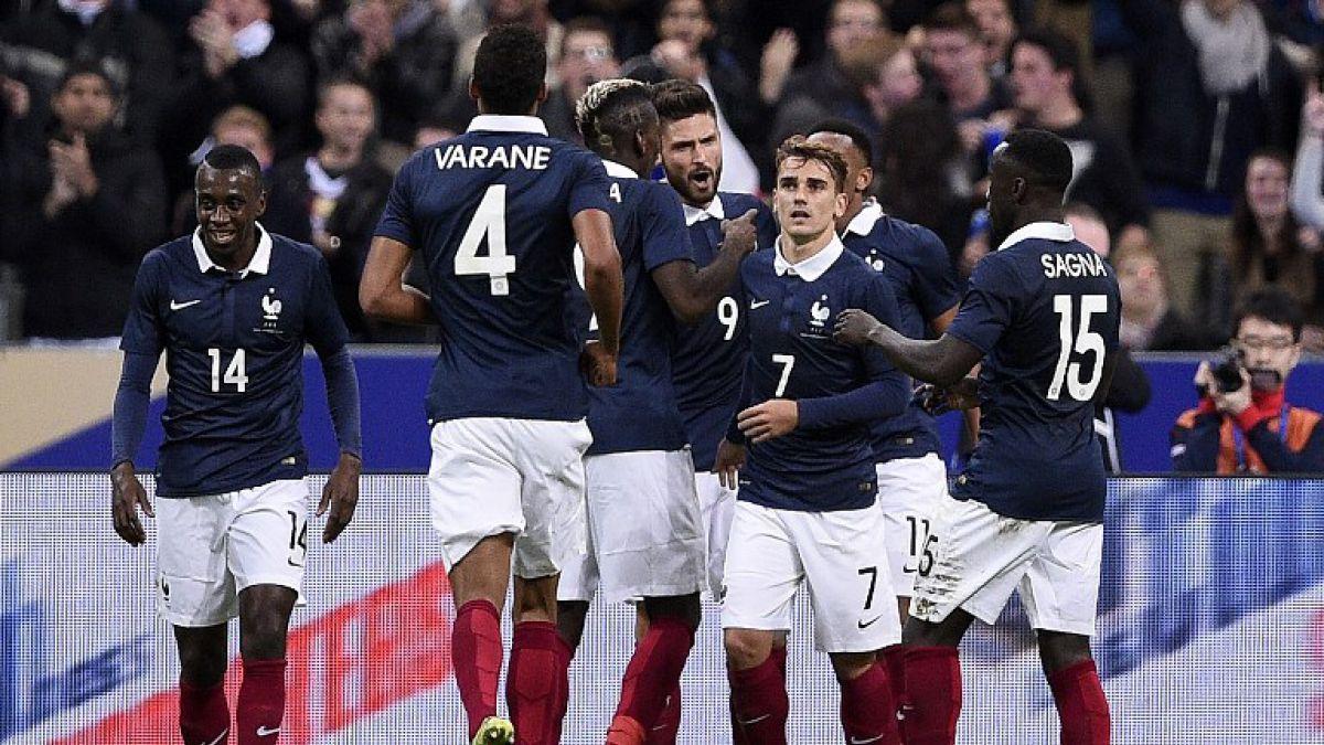 Francia presenta una nómina para Eurocopa 2016 plagada de estrellas