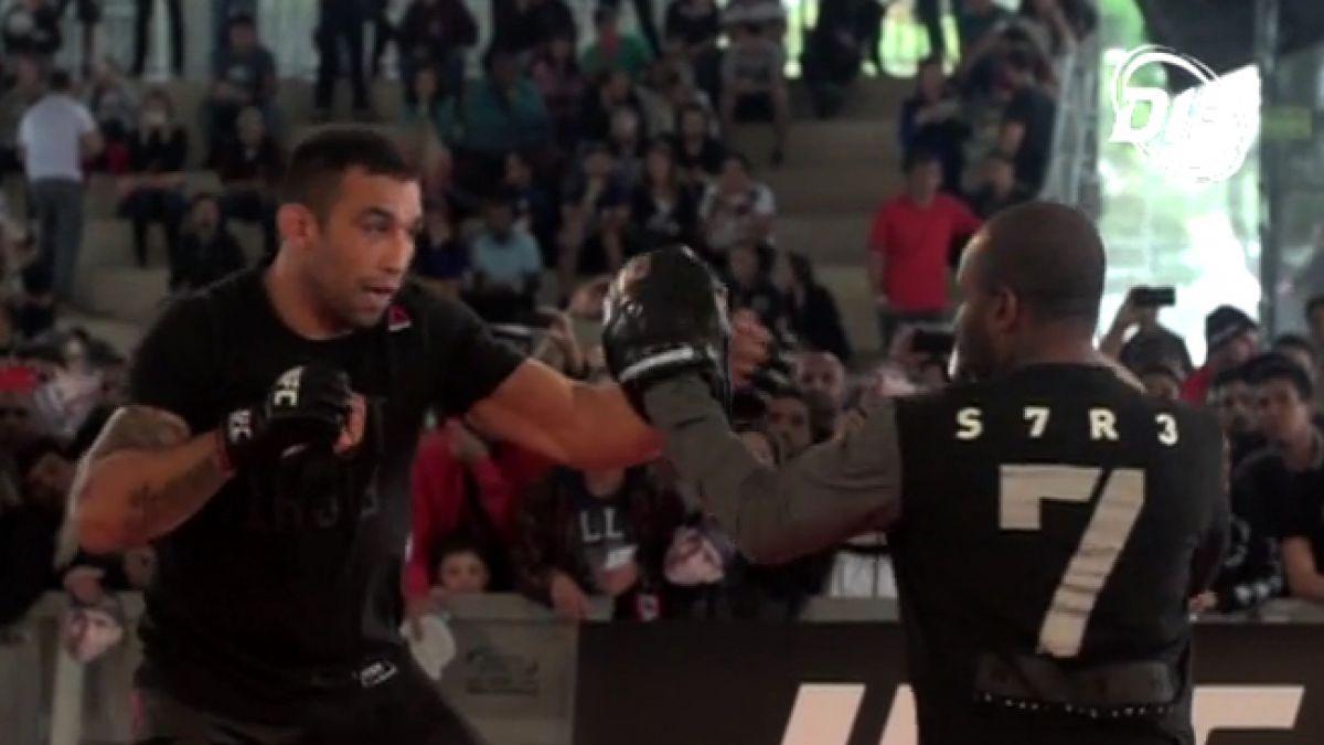 [VIDEO] Fabricio Werdum deslumbra en Curitiba y alaba a luchador chileno Diego Rivas