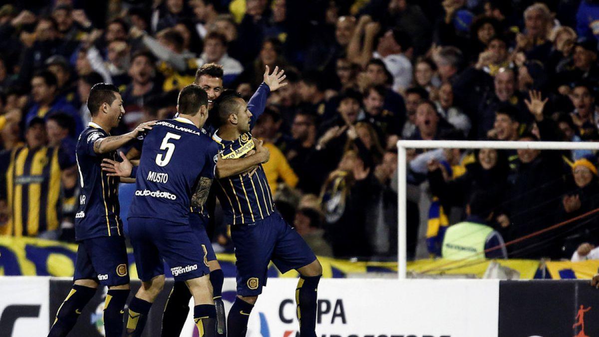 Rosario Central dejó sin invicto a Atlético Nacional en otro intenso duelo de Libertadores