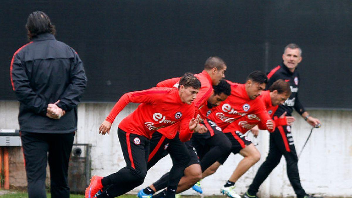 La Roja inicia semana clave en preparación a Copa América Centenario