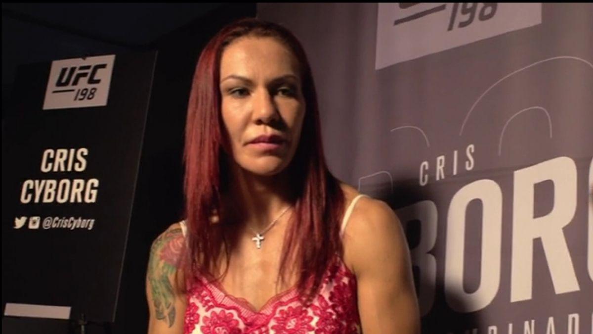 [VIDEO] Cris Cyborg invita a mujeres chilenas a practicar artes marciales mixtas
