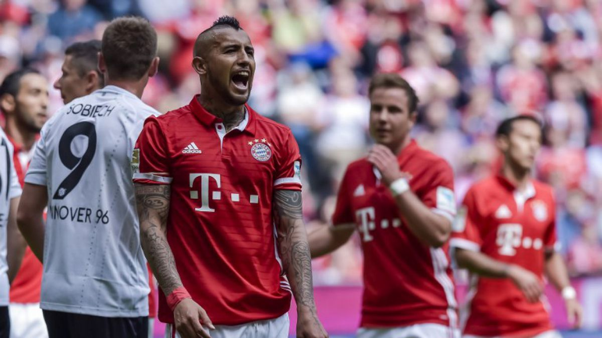 [Minuto a Minuto] Bayern Munich con Vidal de titular celebra corona en Alemania