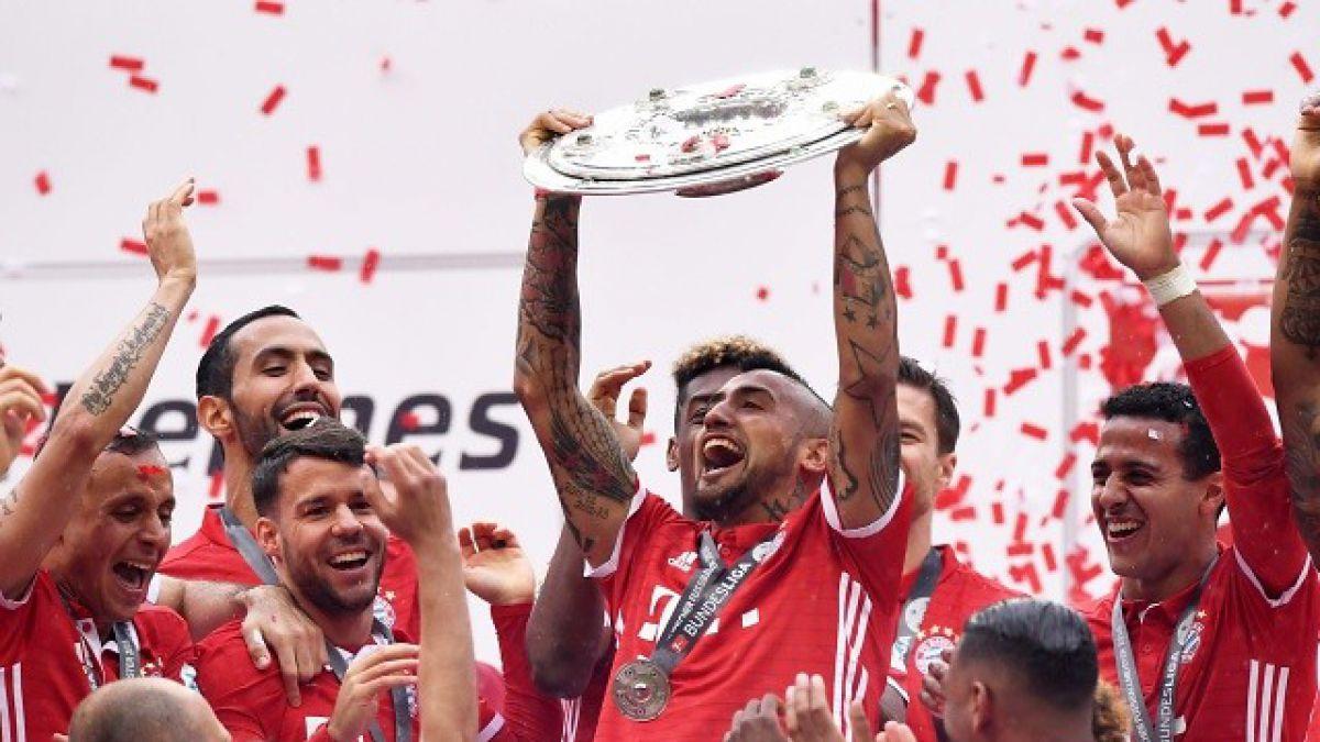 Arturo Vidal va por su segundo título con el Bayern en final de la Copa de Alemania