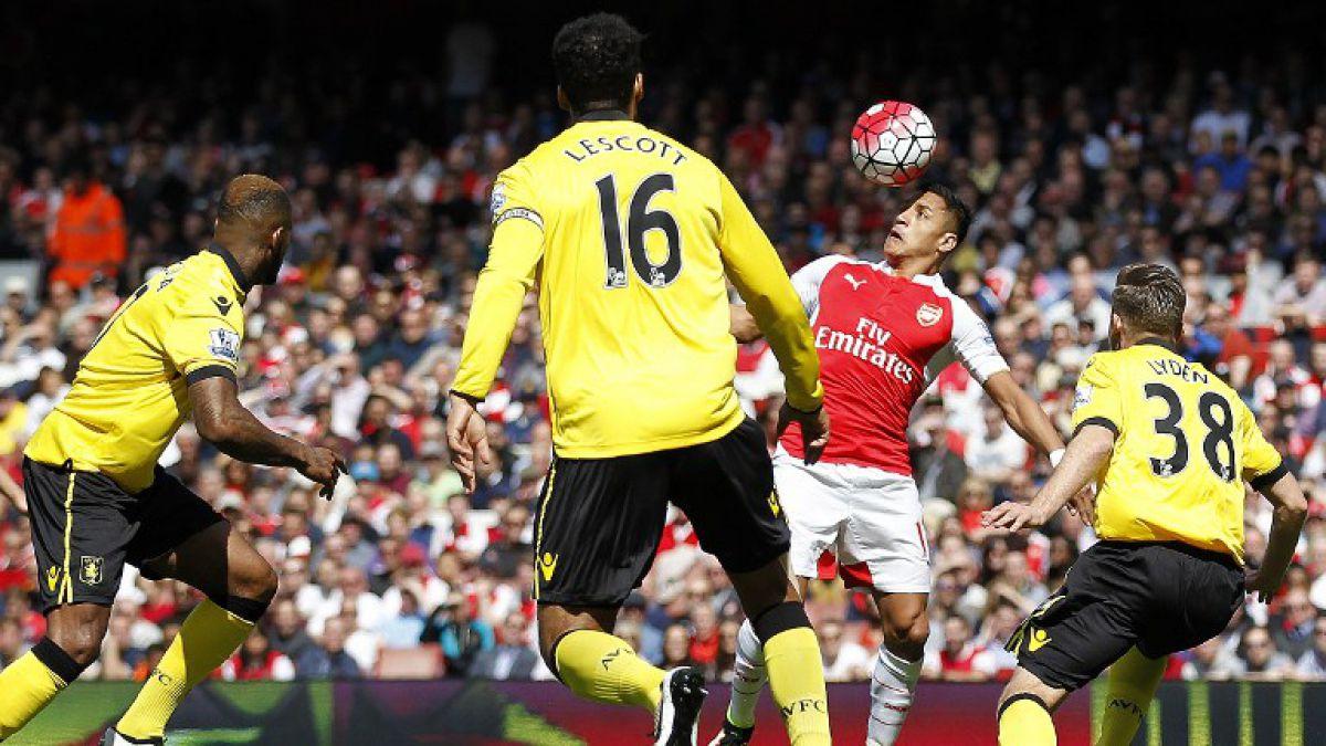 Alexis Sánchez cierra temporada como 2° goleador del Arsenal y clasificado a Champions
