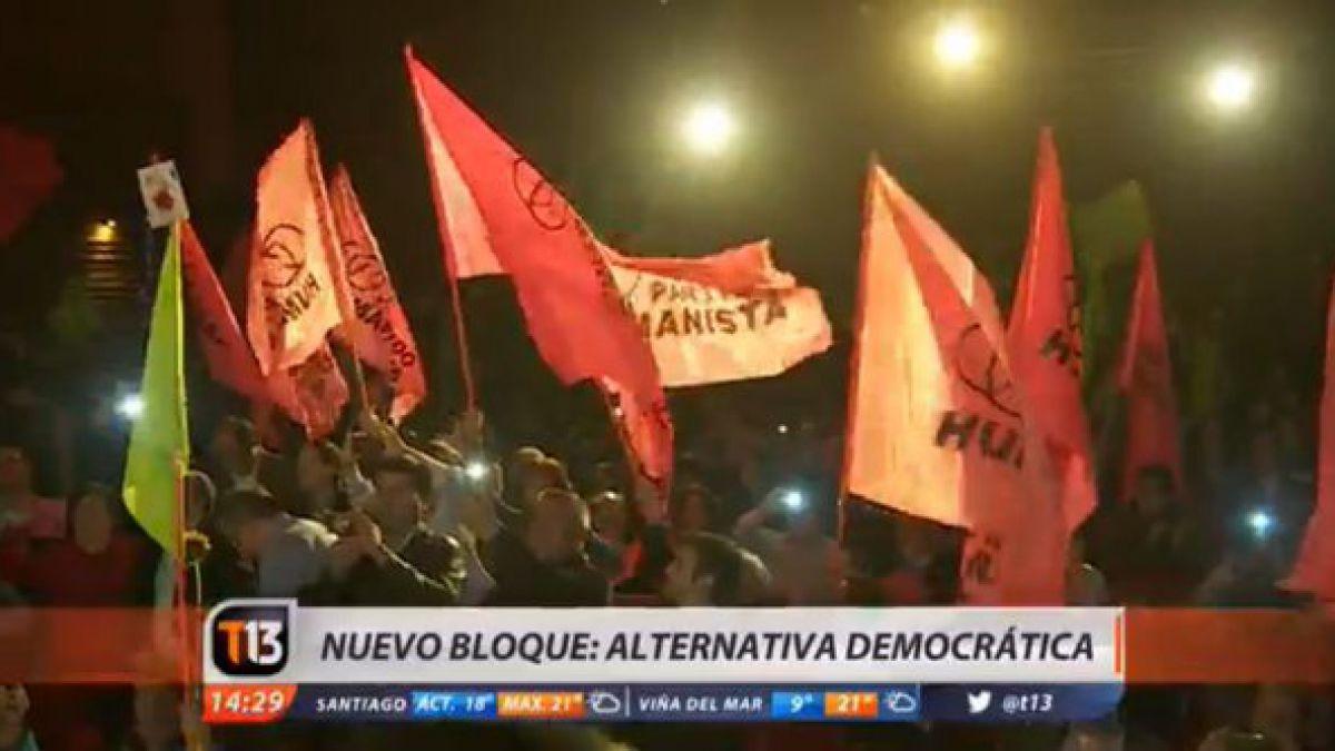Nace un nuevo bloque político: Alternativa Democrática