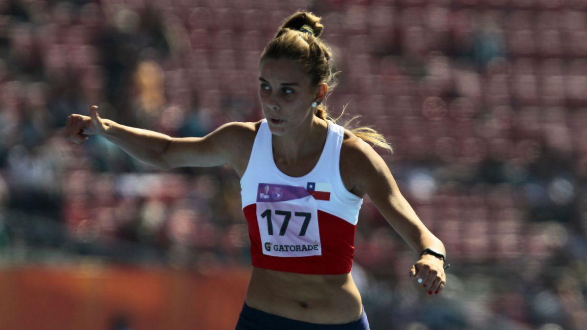 Isidora Jiménez finalmente gana medalla de bronce en los 100 metros en Iberoamericano
