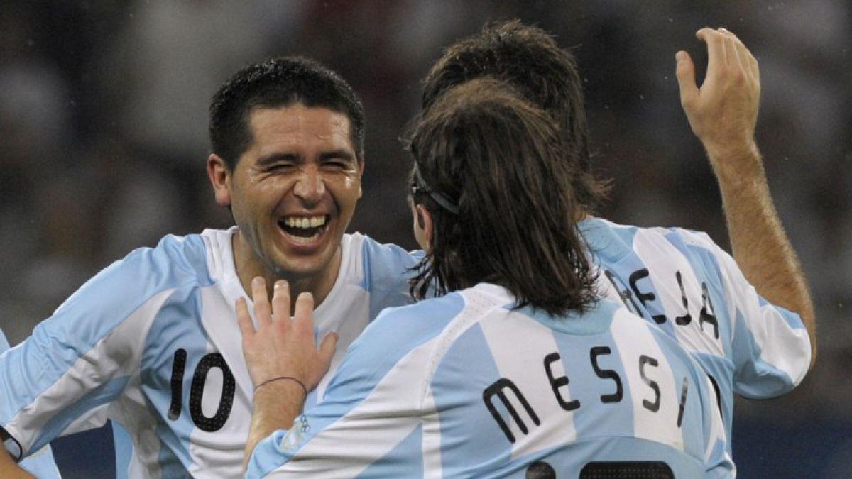 Riquelme alaba a Messi y da su razón por la que Argentina perdió final con Chile