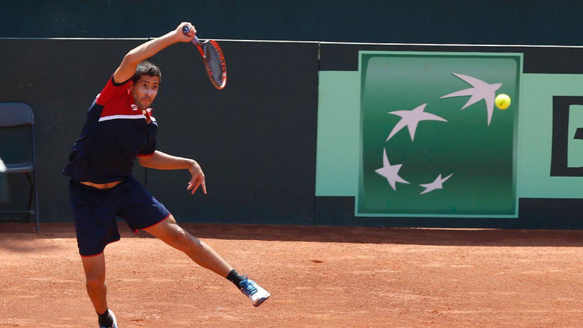 Hans Podlipnik vence y avanza en la qualy de Roland Garros