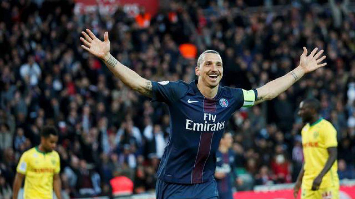 Tribuna del estadio del PSG llevará el nombre de Zlatan Ibrahimovic