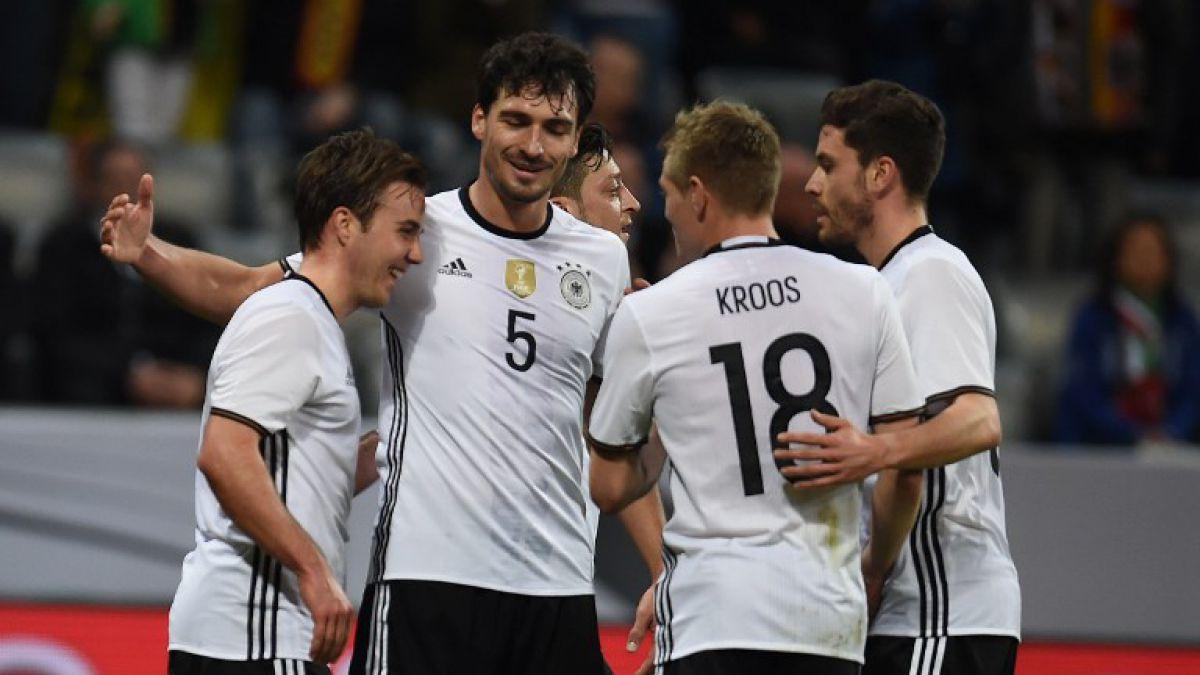 Alemania presenta prenómina para Eurocopa 2016 con 14 campeones del mundo