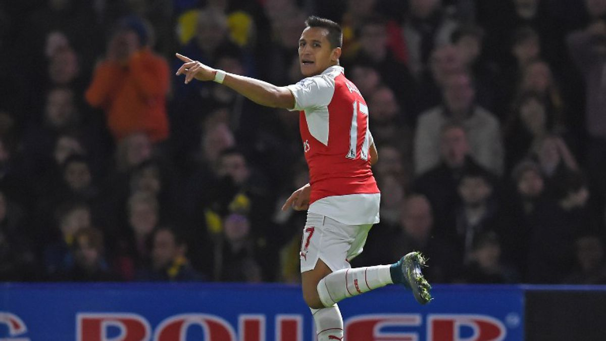 Alexis Sánchez es el mejor delantero de la Premier League según estudio científico