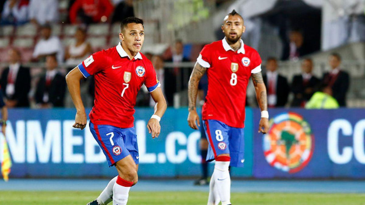 Sánchez y Vidal integran lista de 10 jugadores más valiosos de Copa América Centenario