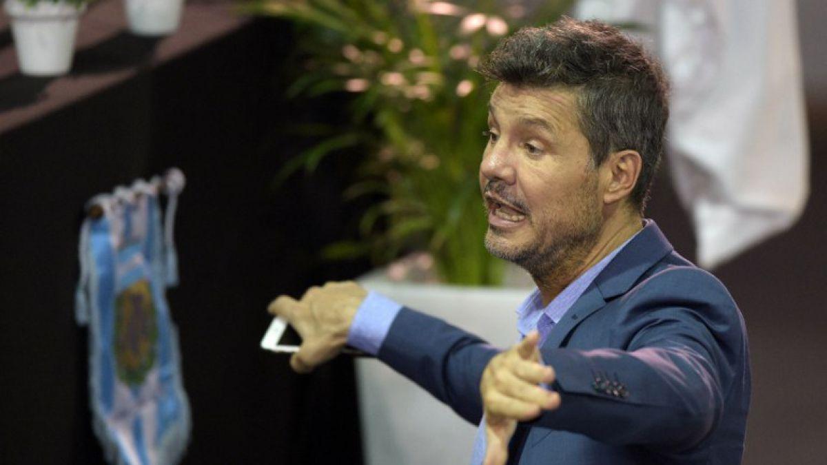 Marcelo Tinelli anunció que baja su candidatura a presidente de la AFA