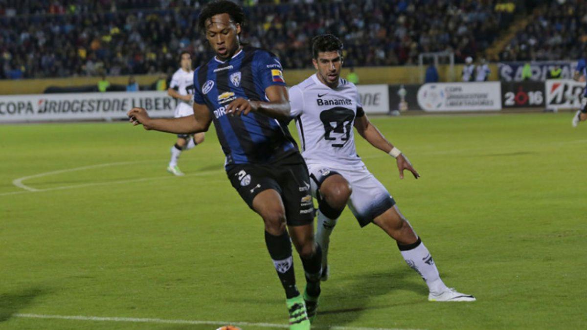 Independiente del Valle vence a Pumas por los cuartos de la Libertadores